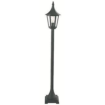 Utomhus Pelare Lantern Svart, E27