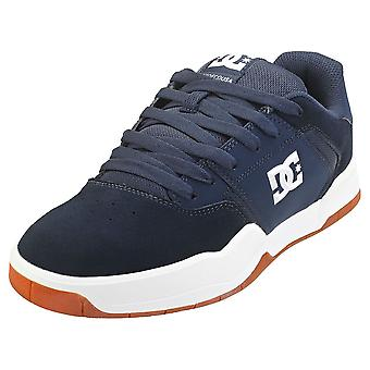 DC Shoes Central Mens Skate Trainers in Navy Gum