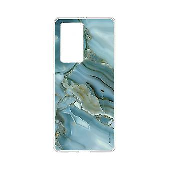 Hull For Huawei P40 Pro Soft Marble Effect Design