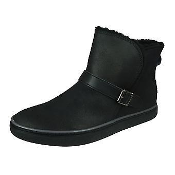 Skechers Keepsneak Pocatello Naisten talvi saappaat-musta