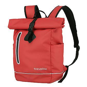 Travelite Basics Roll-Up Backpack Plane 48 cm, Rojo