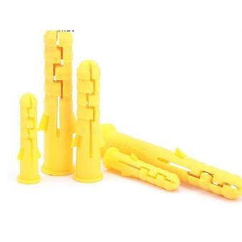 M6 /m8/ M10 Ribbed Plastic  Wall Anchor Plugs