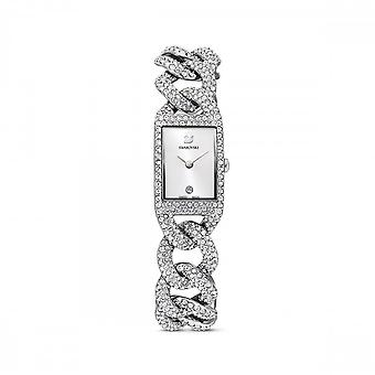 Swarovski Cocktail Watch Metal Silver Tone Stainless Steel Watch 5547617