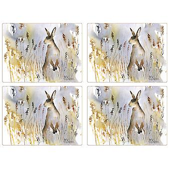 iStyle Hare Set of 4 Placemats