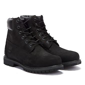 Timberland damskie 6 calowy Premium czarny nubuku buty