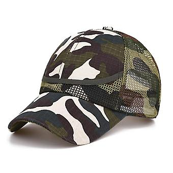 Outdoor Camouflage Baby Mesh Baseball Cap - Summer / Autumn Net Casual Hats