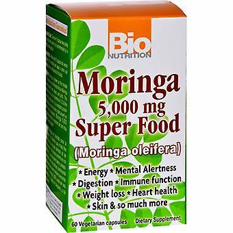 Bio Nutrition Inc Moringa Super Food, 5000 mg 60 VEG CAPS