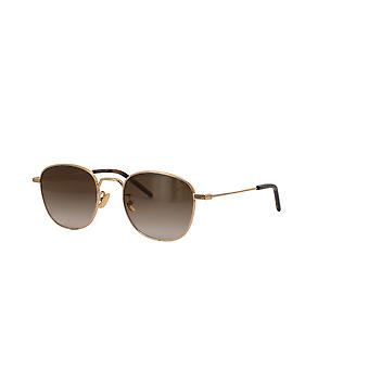 Saint Laurent SL 299 008 Óculos de Sol de Gradiente Dourado/Marrom