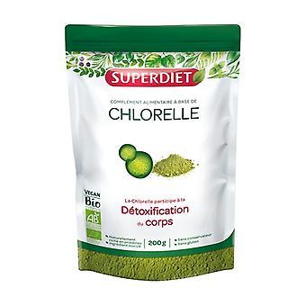 ORGANIC chlorella 200 g of powder
