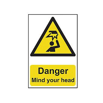 Scanare Pericol Mind Your Head - PVC 200 x 300mm SCA1150