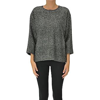 Rochas Ezgl127036 Women's Black Wool Sweater