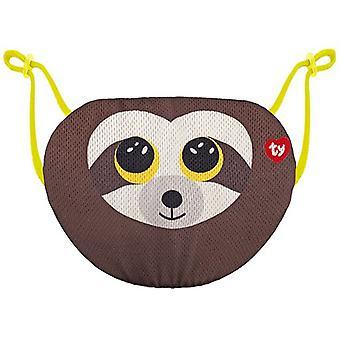 TY Dangler Sloth Face Mask Cover