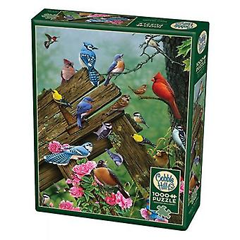 Cobble hill puzzle - birds of the forest - 1000 pc