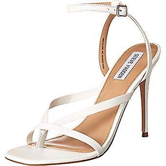 Steve Madden Women's Shoes Amada Leather Split Toe Casual Mule Sandals