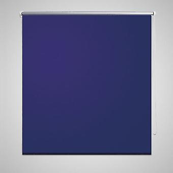Blackout roller blind 80 x 175 cm blue