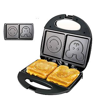 750W electric waffles and sandwich maker machine