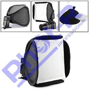 Phot-r 9'Äù 23cm flash softbox diffusore, modificatore flash portatile universale fotocamera dslr comprimibile f