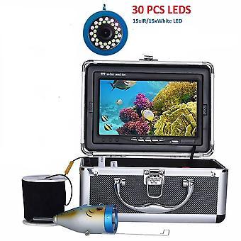 كاميرا الصيد تحت الماء، المصابيح المصابيح المصابيح تحت الحمراء 15+10 للجليد / البحر