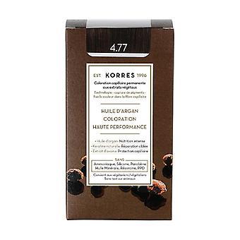 Permanent coloring argan oil, natural chestnut intense brown 4.77 1 unit