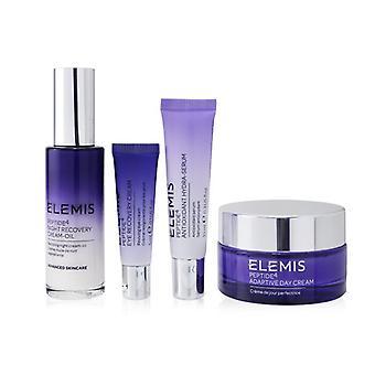 Elemis Peptide 24/7 High Performers Set: Adaptive Day Cream 50ml+ Night Recovery Cream-Oil 30ml+ Hydra-Serum 10ml+ Eye Cream 5ml 4pcs