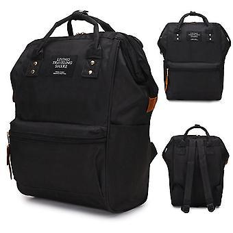 Fashion Backpack Flower, Waterproof Student  Large School Bags
