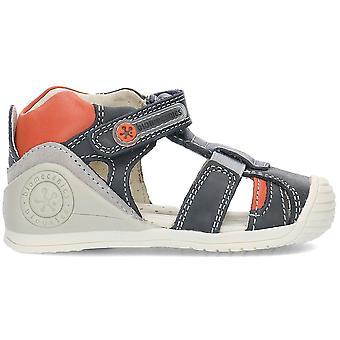 ביומאקניקה 192129 192129AAZULMARINOYPETROL אוניברסלי נעלי תינוקות בקיץ