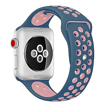 Voor Apple Watch 42/44mm L Siliconen Sport Watch Band