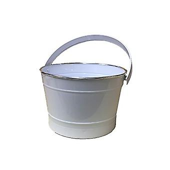 Métal blanc de seau