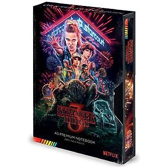 Stranger Things S3 VHS A5 Notebook