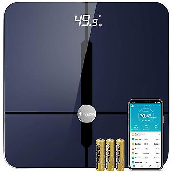 FYLINA Newest Bluetooth Body Fat Scales Bathroom Scales Digital Weighing Scales