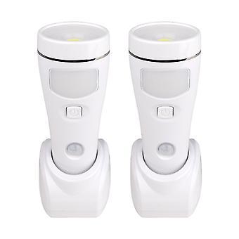 NiteSafe Sensor II - 4 Function Motion Sensor LED Night light, Power Cut Light, Torch and Work Light. 2 Pack