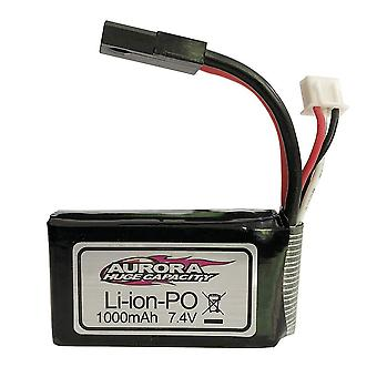 Rechargeable lipo battery 7.4v 1000mah for 1/16 xlh 9130 9136 9137 car rc 4wd truck rocker crawler