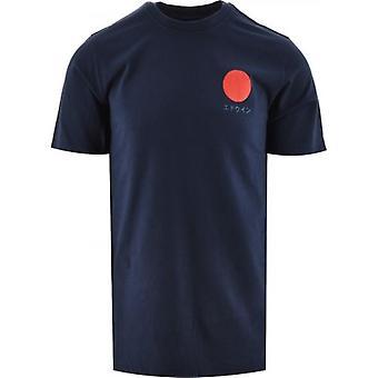 Edwin Navy Japanese Sun T-Shirt