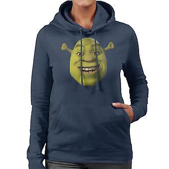Shrek Smiling Women's Hooded Sweatshirt