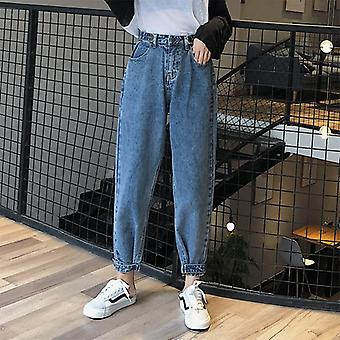 Mom Harem Jeans Casual Denim Pantsfriends Jeans Femme Trousers