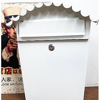 حديقة اللوحة الحديد في الهواء الطلق صحيفة أزياء آخر صندوق