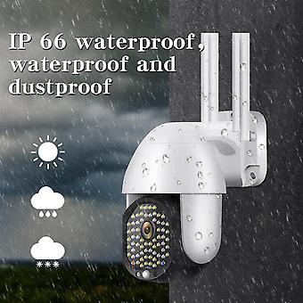 Bakeey 68 LED 5X Zoom HD 2MP IP الأمن كاميرا واي فاي اللاسلكية في اتجاهين الصوت في الهواء الطلق PTZ للماء