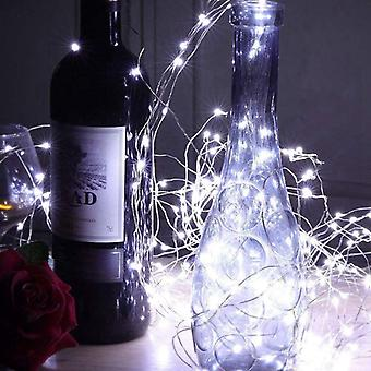 12 Pack 6.5ft 20 Led Wine Bottle - Cork String Lights