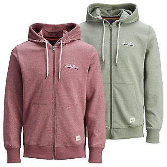 Jack & Jones Mens 2021 Recycled Polyester Blend Sweater Full Zip Hoody