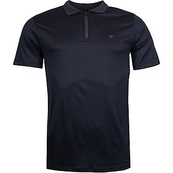 Armani Zip Gât Polo Shirt