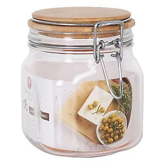 Transparante Glazen Pot Borgonovo Hermetic 750 ml