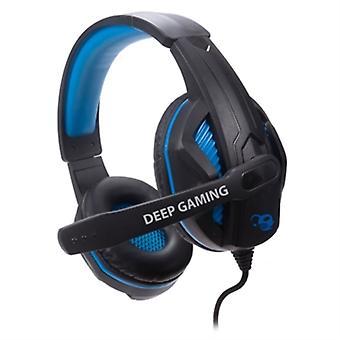 Gaming øretelefon med mikrofon CoolBox deepBLUE G3