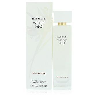 Witte thee vanille orchidee Eau de Toilette Spray door Elizabeth Arden 3.3 oz Eau De Toilette Spray