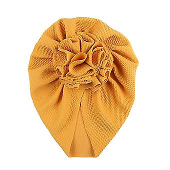 Knot Bow Baby Headbands Toddler Baby Flower Turban Hats Babes Caps Elastic Hair