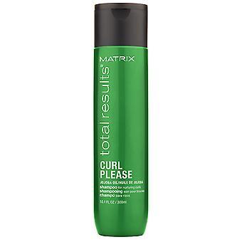 Matris totala resultat Locken Shampoo Curl vänligen 300 ml