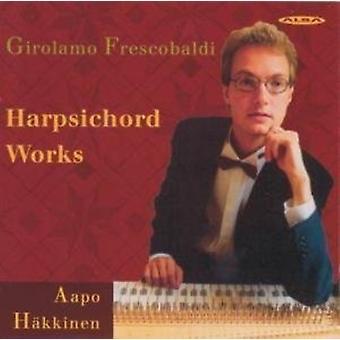 Frescobaldi/Hakkinen-cembalo Works [CD] USA tuonti