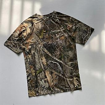 Hombres cazando camiseta manga corta camuflaje camisas de hombre performance camiseta