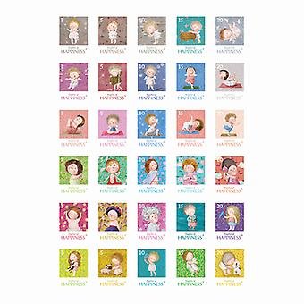 Ultimate Crafts - A4 Stamp Stickers (30pc)