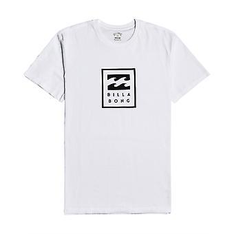 Billabong Menn's T-skjorte ~ Unity Stablet hvit