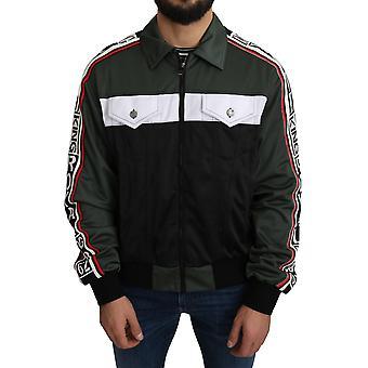 Dolce & Gabbana DG KING Logo Stripe Jacket - JKT2645